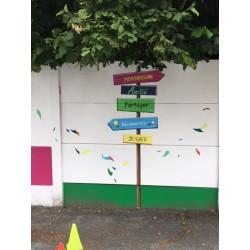 Fresque sport et musique