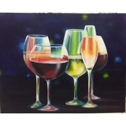 Fresque végétation