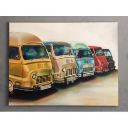 Palette vinyle coloré